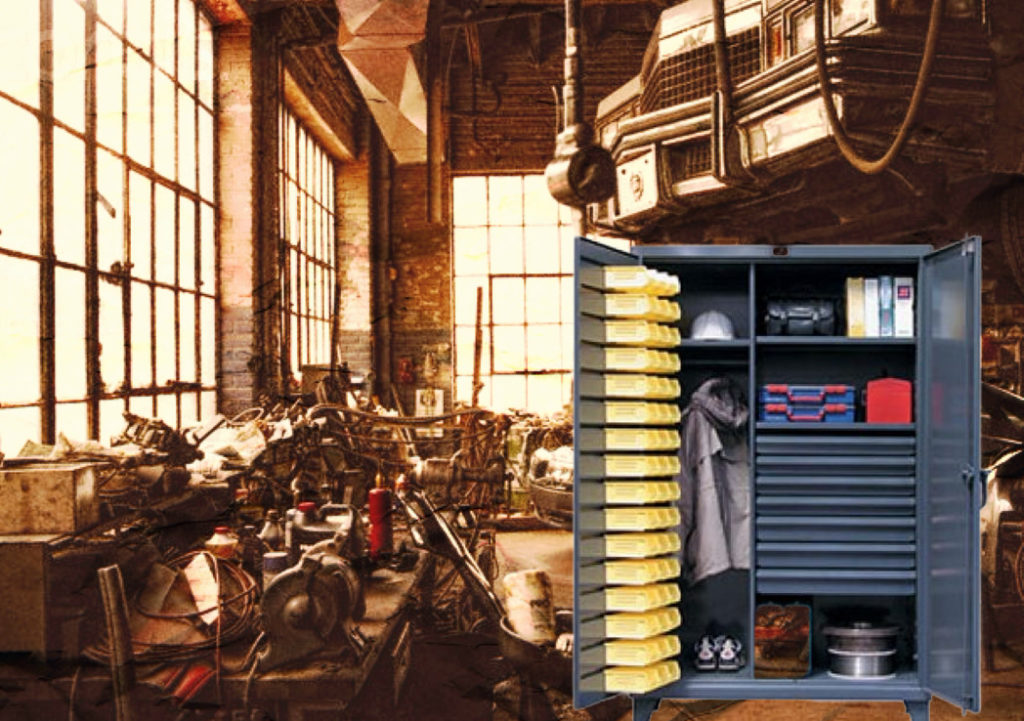 Storage Cabinets to Avoid Industrial Clutter
