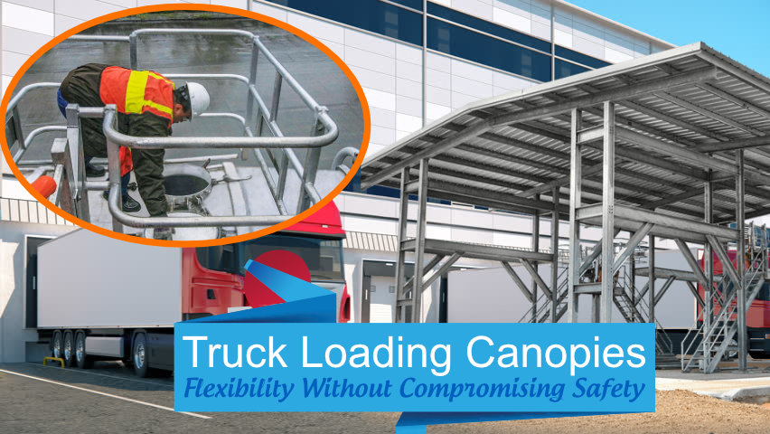Truck Loading Safety Canopy