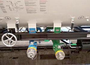 Bottom loading valves for Vinyl and Methyl Chlorides