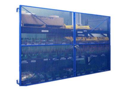 Pallet Rack Security Cage Enclosures