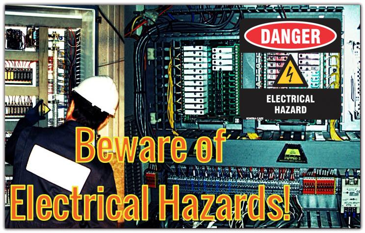 Beware of Elecrrical Hazard